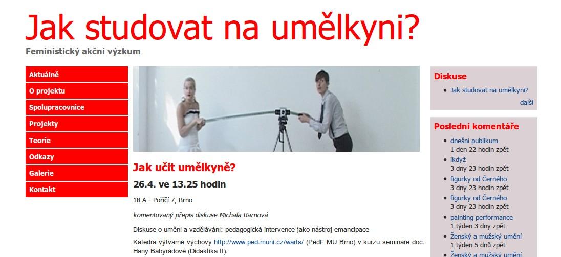 Oficiální stránky projektu L. Vráblíkové