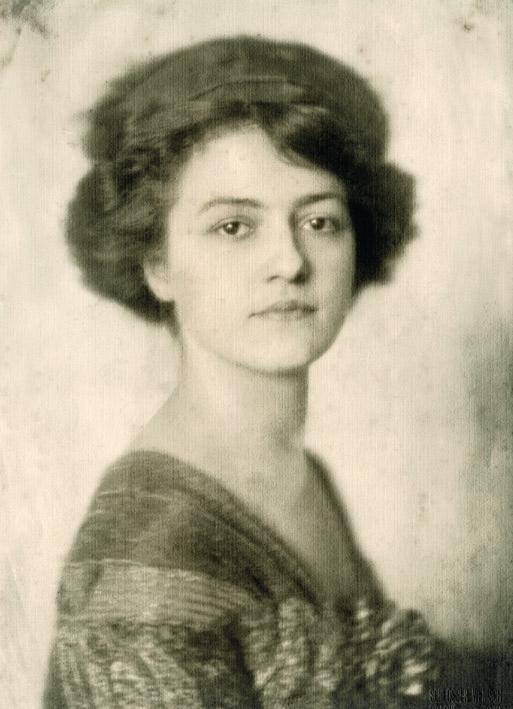 Růžena Zátková v roce 1910